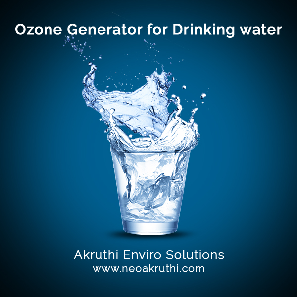 Ozone Generator for Drinking Water | Ozone treatment for drinking water